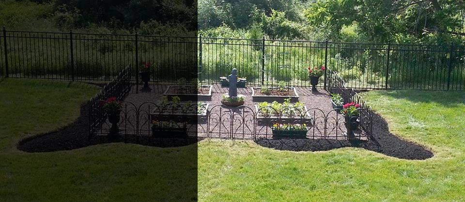 garden-mulching